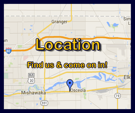 We're spread out in the Osceola and Elkhart area.