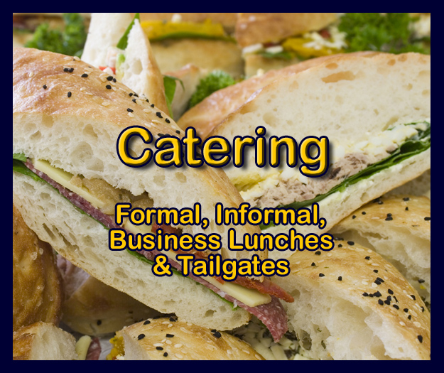 The Buns can cater your event no matter what size or type of event you are holding